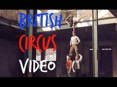 This British Circus Troupe is Turning Abandoned Buildings into Big Tops - total dystopian awesomeness