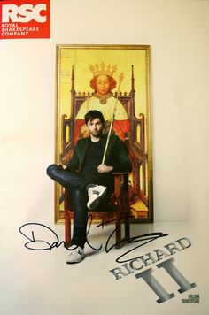 COMPETITION: Win A Richard II Programme Autographed By David Tennant