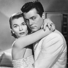 "Tony Curtis and Joanne Dru in ""Forbidden"" (Rudolph Maté, 1953)"