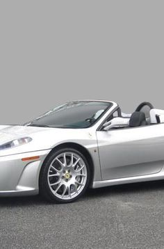 The super sexy and seductive silver Ferrari 430!  Hit the image to see more.