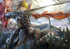Anime - Fate/Zero - Saber Wallpaper