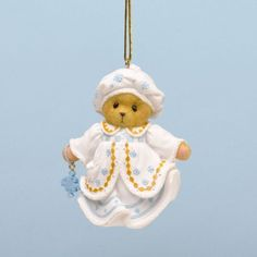 "Cherished Teddies ""The Greatest Gifts Are Our Small Blessings"" Ornament by Enesco, http://www.amazon.com/dp/B00DZZ2A8C/ref=cm_sw_r_pi_dp_Axxasb02B8RN2"