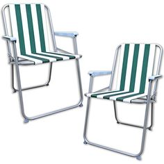 Set of 2 folding picnic chairsAn easy to use folding lightweight picnic camping…