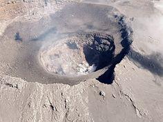 Popocatepetl - the internal crater - photo Cenapred / Pol.Federal