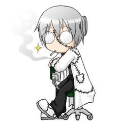 Stein-kun by Alikurai.deviantart.com on @deviantART