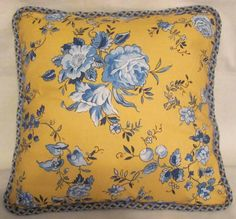 French Country Romantic Cottage Pillow by TsEclecticTreasures,