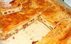 Tvarohový koláč s jogurtom, božský zákusk za pár minút! Návštevu si bez nich ani nevieme predstaviť - Báječná vareška Hungarian Recipes, Hungarian Food, Spanakopita, Apple Pie, Camembert Cheese, Bakery, Pizza, Sweets, Bread