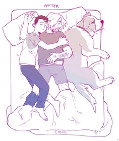 This is so cute!! Hank's cuddle partner | Cr: brotherfuckr