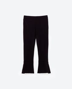 Image 8 of FLARED TROUSERS from Zara