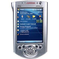 compaq pocket pc ipaq . 2002 ? still got this somewhere