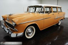 1955 Chevrolet Bel-Air wagon. I will have one.