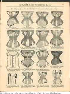 B.Altman & Co. Catálogo Invierno 1886/87