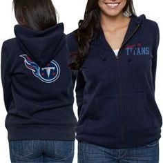 Tennessee Titans Ladies game Day Full Zip Hoodie