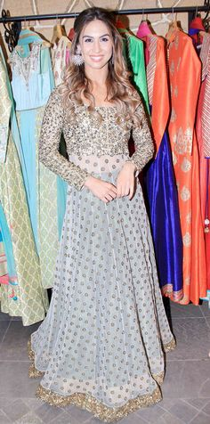 Lauren Gottlieb at the festive collection preview of a major fashion label.