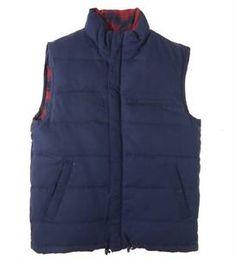 Billionaire Boys Club Heavy Vest Coat S Small Plaid Reversible Utility  Jacket 4e9dc482c49