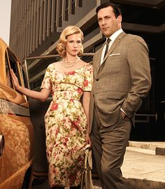 A perfect wife turned into an idiot ex-wife! Betty and Don draper.