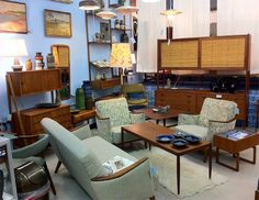 Be Modern Is A New Boutique In Ipswich That Specializes In Mid Century  Modern And Danish Modern Home Furnishings From The And Call Vintage  Furniture, ...