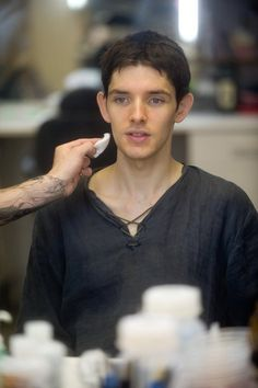 Colin Morgan Behind The Scenes, Season 3....I have a feeling he's about to become Emrys.....<3 lol