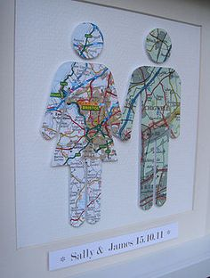 Choose the city where each of you are from.and create a personalised couple map … Choose the city where each of you are from.and create a personalised couple map picture framed by little bird designs Map Crafts, Arts And Crafts, Gift Crafts, Map Pictures, Vintage Maps, Antique Maps, Collage Vintage, Bird Design, Home And Deco