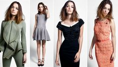 The dress second from the left: Alaïa
