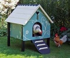 Chicken Coop - Who needs a dog house when you can have a chicken house? Building a chicken coop does not have to be tricky nor does it have to set you back a ton of scratch.