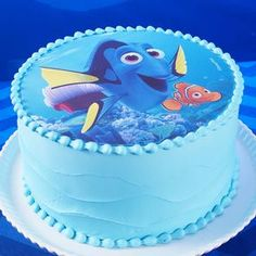 Just Keep Swimming! Finding Dory Cake