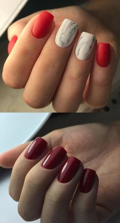 Unique autumn winter nail arts, designs and trends in 2017 2018.