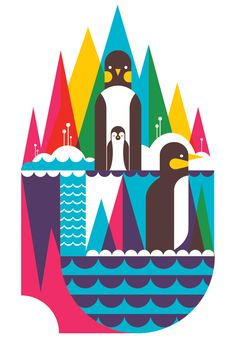 I do love a good piece of penguin art!