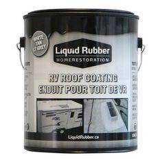 Liquid Rubber Rv Roof Coating