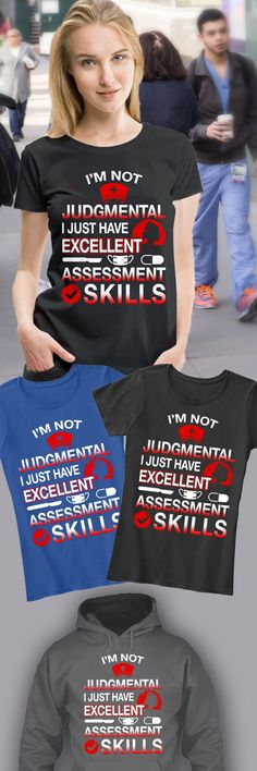 Discover Nurse With Excellent Assessment Skills! Women's T-Shirt from Nurse's Store, a custom product made just for you by Teespring. With world-class production and customer support, your satisfaction is guaranteed.
