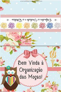 As Tontas Vão Ao Céu: Organização das Moças - Cartão de Boas Vindas