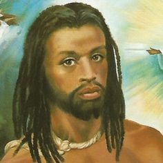 A gallery of images of Jesus, arranged in chronological order from the most ancient to the most recent. Black Jesus Pictures, Black Art Pictures, Osprey Bird, White Jesus, Black History Books, Art Of Love, Black Artwork, My People, Black People