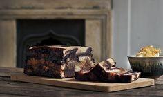 Bread and jam pudding. Photograph: Jonathan Lovekin