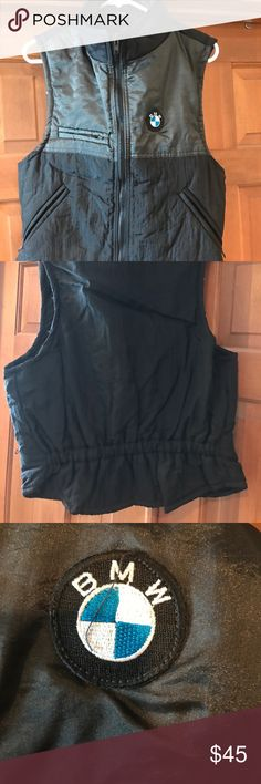Exclusive BMW Vest Barely used. Maybe once. Exclusively made for BMW owners. Great Buy! BMW Jackets & Coats Vests