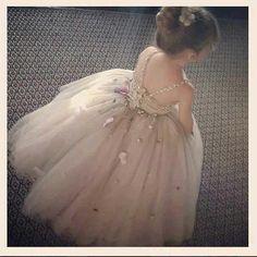 Fairy Tale Flower Girl Dress
