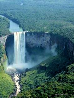 Kaieteur Falls in Brownsberg, Surinam Beautiful World, Beautiful Places, Beautiful Pictures, Oh The Places You'll Go, Places To Visit, Les Cascades, South America Travel, Kirchen, Adventure Is Out There