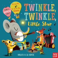 Twinkle, Twinkle, Little Star: A Musical Instrument Song Book by Nicola Slater Local Cinema, Kids Background, Up Music, Old Love, Twinkle Twinkle Little Star, Book Publishing, Childrens Books, Illustration, Musicals