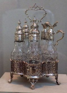 I bought a vintage cruet set at a garage sale as a kid.  Loved that thing..