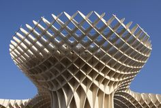 A view of Metropol Parasol - The world's largest wooden structure by Mariano Gonzalez, via Flickr