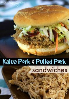This Kalua pork tastes just like the luau pork at the Polynesian Cultural Center! It has the best flavor - you won't want to miss this recipe.