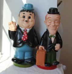 Laurel and Hardy Vintage Banks