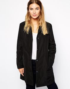 $124, Black Trenchcoat: G Star Trench Coat. Sold by Asos. Click for more info: http://lookastic.com/women/shop_items/167306/redirect