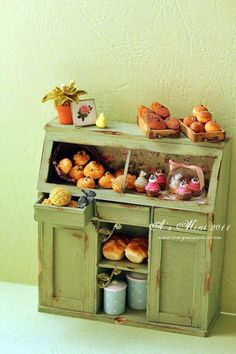 bread and pastries ~ cabinet