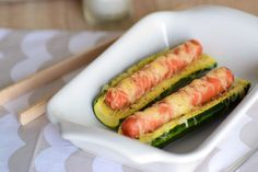 hot dog courgette1
