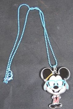 MICKEY MOUSE Necklace Kids Pendant Disney  #DisneyCouture #PendantNecklace