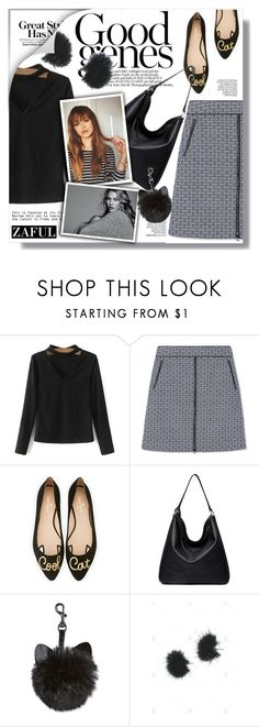 """""""Zaful"""" by sans-moderation ❤ liked on Polyvore featuring Tory Burch, Kate Spade, Fall, polyvoreeditorial and polyvorecontest"""
