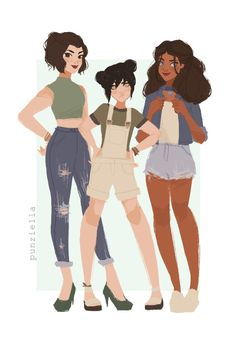 Ladies of atla pt. 1