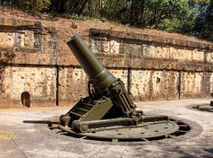 Gun Emplacement, Corregidor Island, Manila Bay by Al's photos.., via Flickr