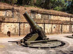 Gun Emplacement, Corregidor Island, Manila Bay by Al's photos.., via Flickr