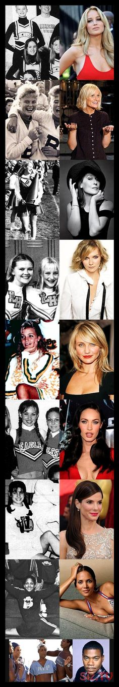 Famous people who were once cheerleaders // funny pictures - funny photos - funny images - funny pics - funny quotes - Funny Images, Funny Photos, Funniest Pictures, Images Photos, Bizarre Pictures, Hilarious Pictures, Bff Pictures, Animal Pictures, Famous Cheerleaders